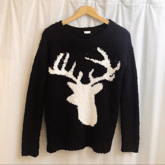 Garage Sweaters - Garage Plush Reindeer Sweater